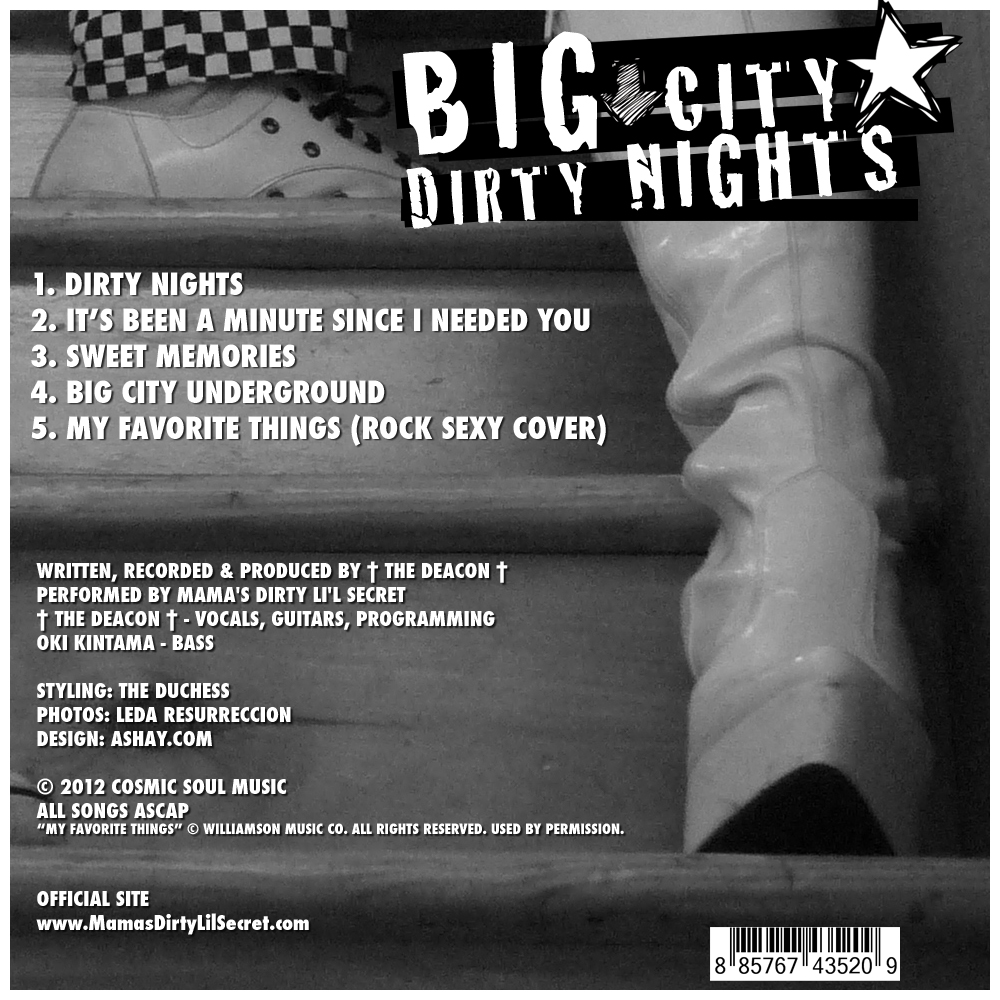 Big City, Dirty Nights credits